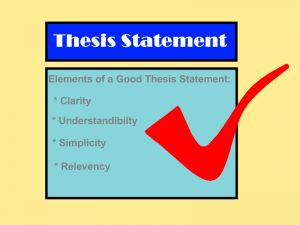 elements of a good and effective essay Preparing effective essay questions the grader must have a good understanding of at example b shows that it contains the basic elements of an effective essay.