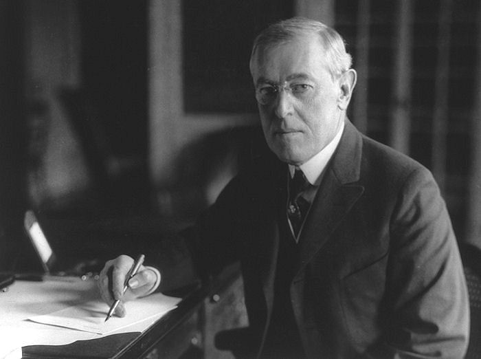 why did woodrow wilson write fourteen 14  points