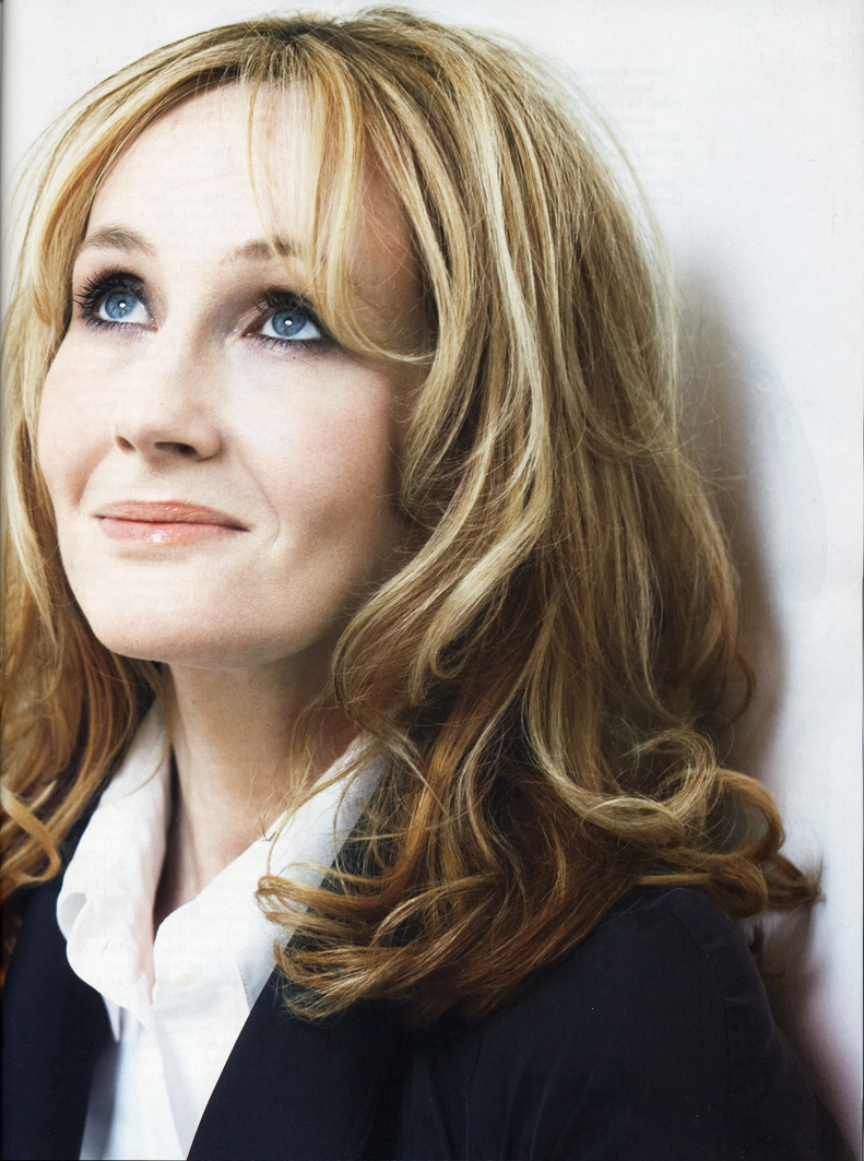 j k rowling short biography and timeline