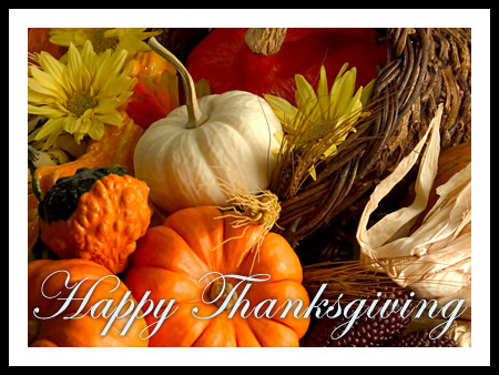 Happy Thanksgiving Verses, Poems, Greetings