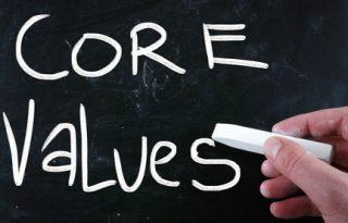 Core Values for Organizatiosn