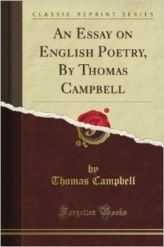 An Essay on English Poetry by Thomas Campbell
