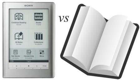 Books vs ebooks essay