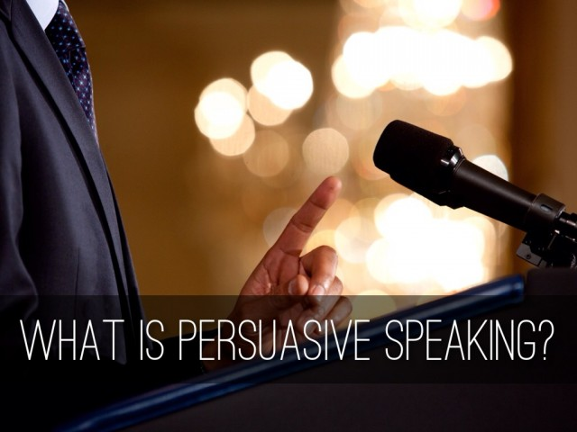Speech Writing - How to Write a Persuasive Speech Quickly