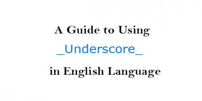 Using Underscore