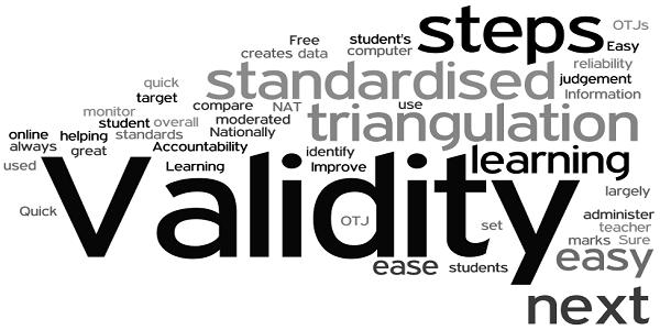 determine validity essay test