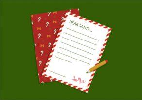 letter to santa, letter writing tips, informal letter writing, Christmas